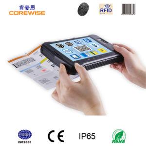 Rugged Tablet Pc With Biometric Fingerprint Reader Rfid Barcode Scanner