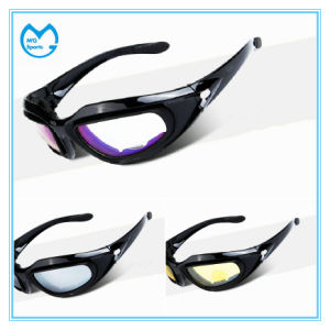 Clear PC Lens Sports Goods Cycling Sunglasses for Adult