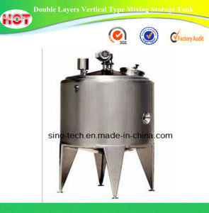 Double Layers Vertical Type Mixing Storage Tank pictures & photos