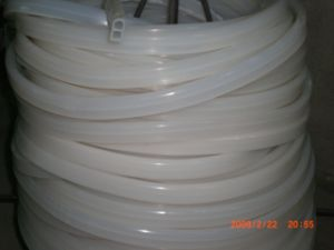 Food Grade Silicone Cord, Silicone Profile, Silicone Stripe (3A1004) pictures & photos
