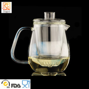 100% Hand Blown Borosilicate Glass Teapot pictures & photos