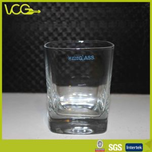 Square Glass Tumbler for Premium Spirits Promotion (TW025)