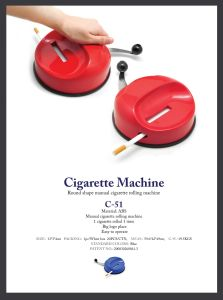 Manual Cigarette Roller (C-51)
