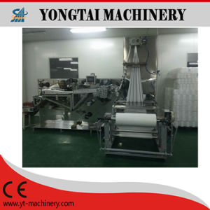 Disposable Nonwoven Hospital Antibacterial Bedcovers Folding Machine pictures & photos