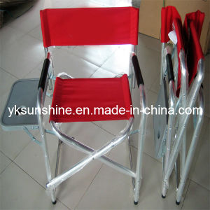Metal Director Folding Chair with Side Table (XY-144B2) pictures & photos