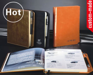 OEM PU Leather Custom Notebook pictures & photos