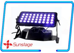 Double Head Waterproof 36PCS 10W LED Wall Wash Light LED City Color