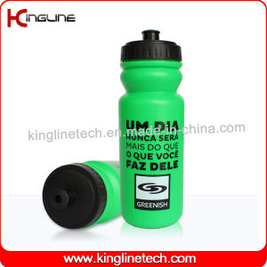 Plastic Sport Water Bottle, Plastic Sport Bottle, 600ml Plastic Drink Bottle (KL-6635) pictures & photos