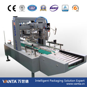40cpm Automatic Carton Packing Machine Hot Melt Glue Carton Sealer