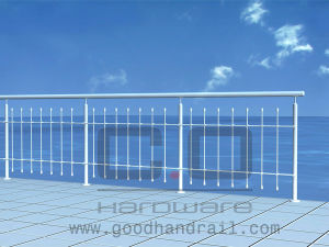 Steel Balustrade (CO-D003) /Handrail Post pictures & photos