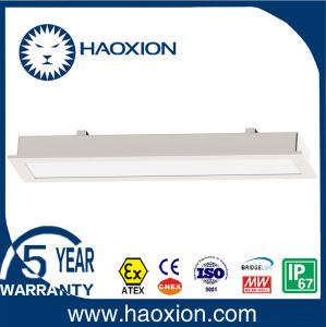 Dust Proof Stainless Steel LED Panel Light for Indoor