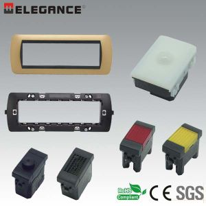 Hot Sale 7 Module Italian Wall Switch and Socket pictures & photos