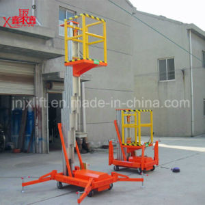 Mobile Telescoping Hydraulic Aluminum Alloy Work Lift pictures & photos