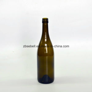 Dia. 80.5mm, Height297mm Bvs Top Burgundy Glass Wine Bottle pictures & photos