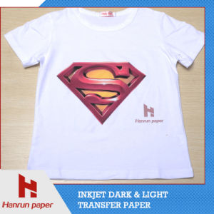 Easy Cutting Dark T-Shirt Transfer Paper/Film for 100% Cotton Fabric