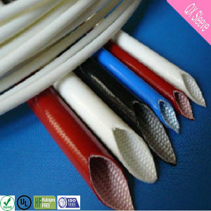Flexible Insulating Braided Silicone Fiberglass Sleeving pictures & photos
