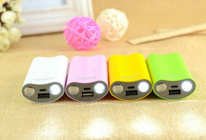 2 LED Flash Lights Mobile Portable Power Bank pictures & photos