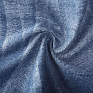 Indigo Woven Denim Fabric with High Quality 98%Cotton 2%Spandex pictures & photos