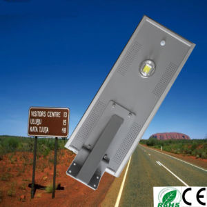 18W Easy Install All in One Solar Garden Light Green Energy All in One Solar Street Light pictures & photos