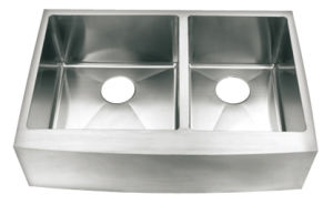 Handmade Stainless Steel Sink-Hm3320r-L