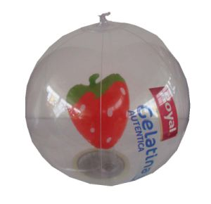 Transparent PVC Beach Ball for Promotion pictures & photos