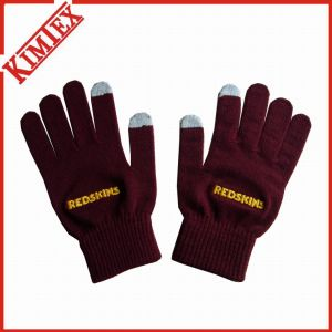Wholesales Fashion Customized Acrylic Winter Texting Glove pictures & photos