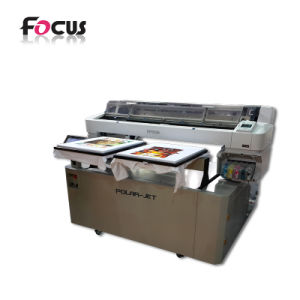 27a21484a China Digital Flatbed T Shirt Printing Machine Textile DTG Printer ...