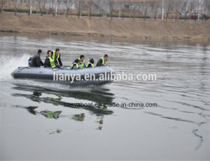 Liya 4.7m Military Boat Rescue Inflatable Rubber Boat pictures & photos