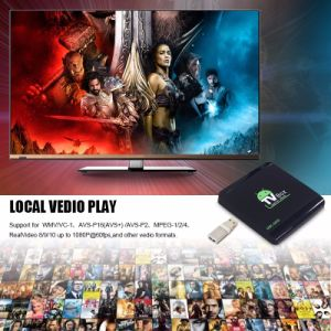 Android TV Box M8s-Mini Rk3229 Quad Core Android 6.0 TV Box 4K*2K Video H. 265 pictures & photos