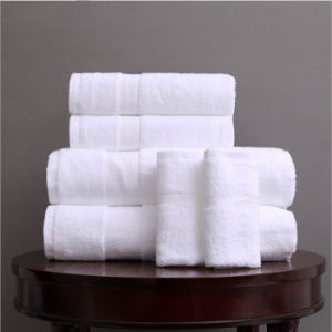 Wholesale Soft 100% Cotton Hotel White Terry Hand Face Bath Towels