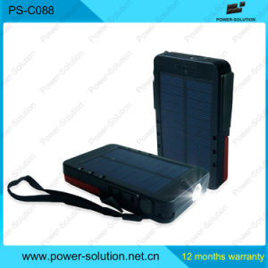 Mobile Portable Powerbank with Emergency Solar Light pictures & photos