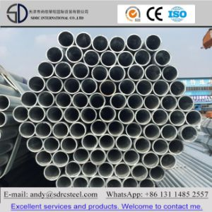 Hot DIP-Galvanized Steel Pipe, Round Galvanized Steel Pipe pictures & photos