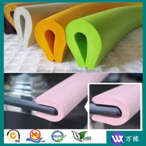 Rubber Sheet Rubber Foam Sheet for Baby Safety Collision Angle