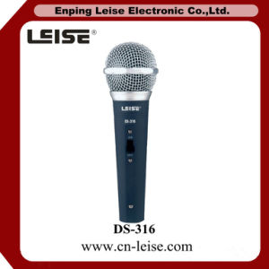Ds-316 Good Quality Dynamic Microphone Wired Microphone