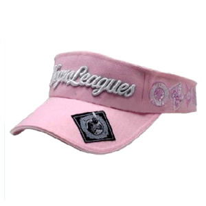 Visor Cap with 3D Embroiderey (JRV046) pictures & photos