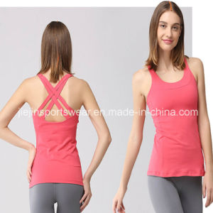 Hot Sexy Ladies Sports Stringer Tank Top Fitness Women Camisole pictures & photos
