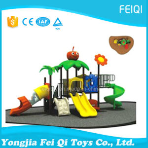 Commercial Preschool Outdoor Plastic Tunnel Slide with Great Price Nature Series (FQ-YQ-301)