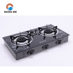 New Design 3 Burners Gas Stove pictures & photos