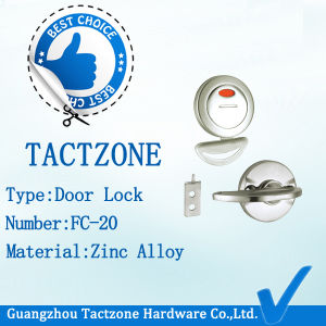Factory Directly Toilet Partition Bathroom Fittings Indicator Handle Lock pictures & photos