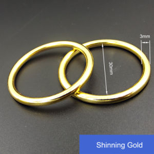 Swimwear Accessories Metal Circle Trim pictures & photos