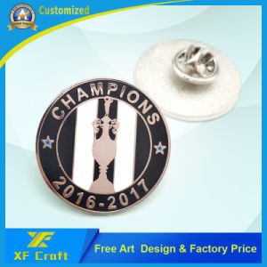 Factory Price Customized Metal Pin Badge for Promotion (XF-BG39) pictures & photos