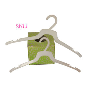 Cheap Plastic White Durable Shirt Hanger pictures & photos