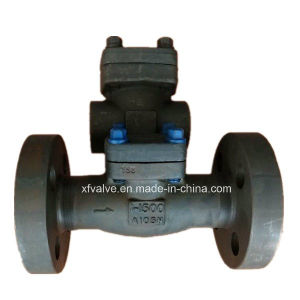 1500lb 2500lb Forged Steel A105 Flange Connection End Check Valve