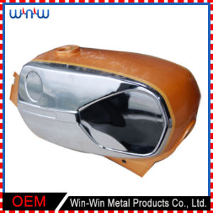 Custom Deep Drawn Stainless Steel Product Motorcycle Fuel Tank