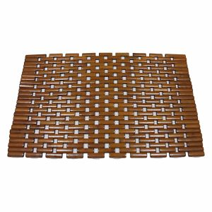 Natural Bamboo Block Tablemat for Tabletop & Flooring