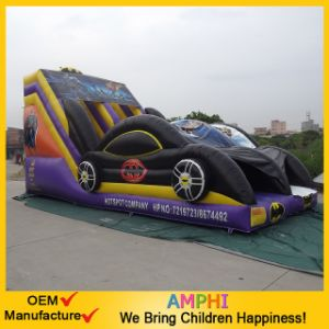 Inflatable Slide Dry Slide with Car