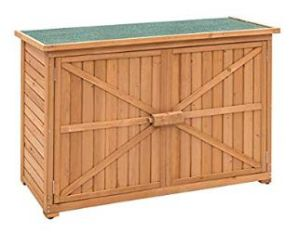 China Goplus Wooden Garden Shed Outdoor