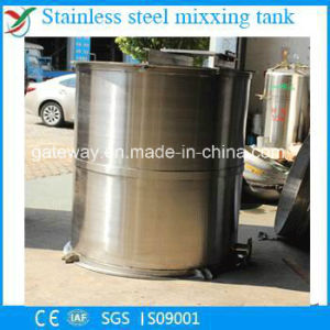 Vertical Stainless Steel Food Tank with 1000L
