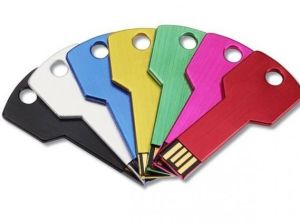 Promotional Cheapest 2GB 4GB 8GB Black USB Driver Waterproof Metal Key Shape USB Flash Drive pictures & photos