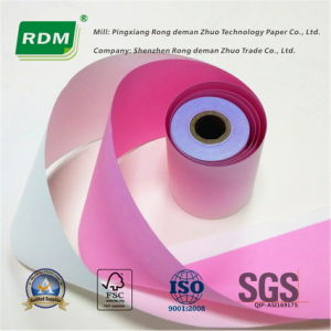Carbonless Paper Roll/NCR Paper Roll/ Rollos De Papel Quimico for Electronic Cash Register pictures & photos